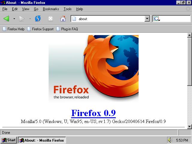firefox 1.5 0.7