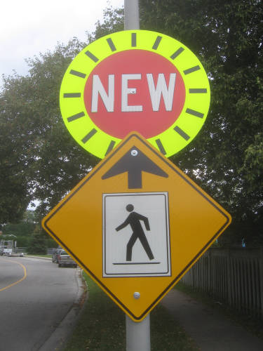 [Ontario New sign]