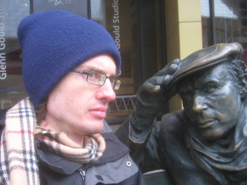 [Glenn Gould and I]