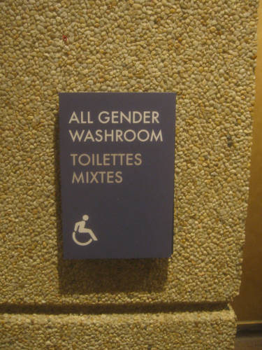 [All Gender Washroom]