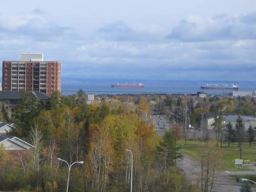 [Thunder Bay, ON establishing shot]